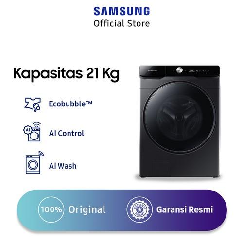 Samsung Mesin Cuci Front Loading 21 Kg AI Control - WF21T6500GV/SE