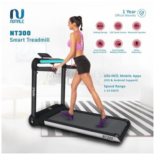 Notale Treadmill Nt300 Walkingpad Led Touch Screen Bluetooth Speaker