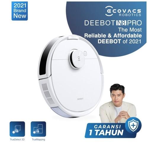 Ecovacs DEEBOT N8 PRO Robot Vacuum Cleaner Sapu Vacum Pel Vakum