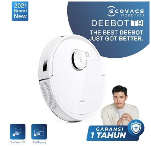 Ecovacs DEEBOT T9 Robot Vacuum Cleaner Sapu Vacum Pel Vakum Mop. Hyun Bin's First Choice!