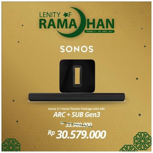 SONOS 5.1.2 SUB Gen3 With ARC Wireless Speaker HiFi System
