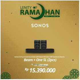 SONOS 5.0 BEAM With Two One