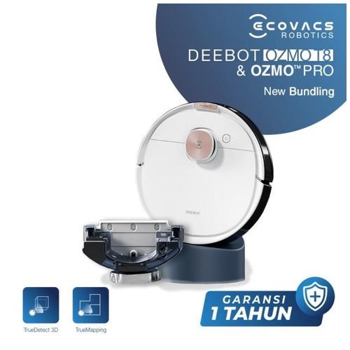 Ecovacs DEEBOT T8 & OZMO PRO Robot Vacuum Cleaner Vakum Mop (Bundle)