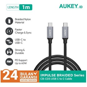Aukey Cable 1M Braided C to