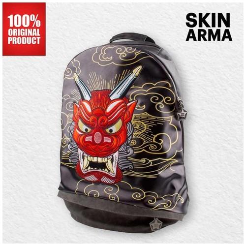Skinarma - Irezumi Day Backpack Akki Red - Black
