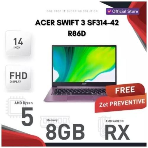ACER SWIFT 3 SF314 - 42 - R86D | R5-4500U | SSD 512GB | PURPLE*
