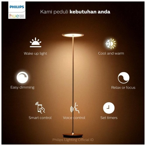Philips 45040 Hue Muscari Floor Lamp LED Champagne 1