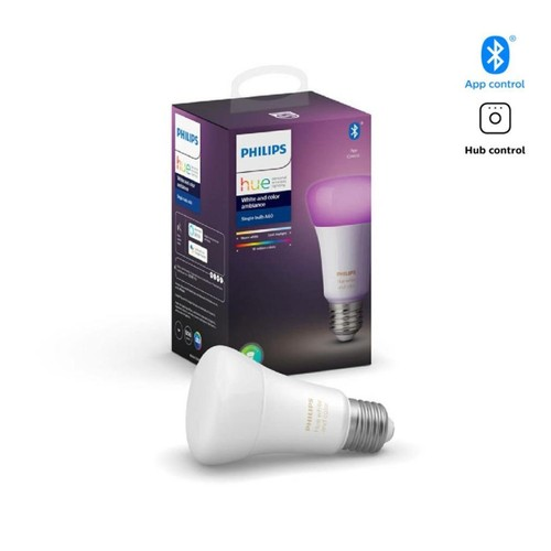 Philips Hue White and Color Ambiance Bluetooth Single Bulb