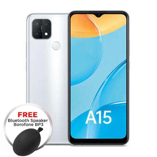 Oppo A15 (RAM 3GB/32GB) - White