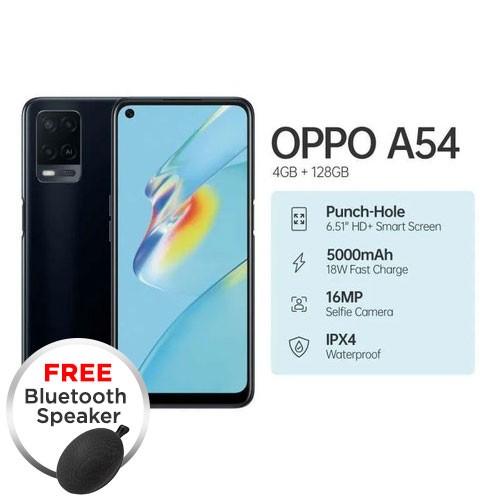 Oppo A54 (RAM 4GB/128GB) - Black