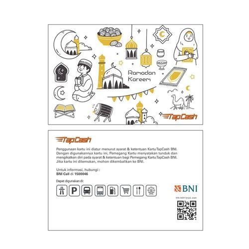 BNI Tapcash Edisi Ramadhan - Kartun Ramadan Kareem