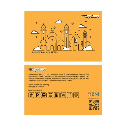 BNI Tapcash Edisi Ramadhan - Masjid Ramadhan Kareem