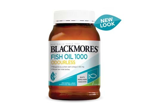 Blackmores Odourless Fish Oil 1000 - 200