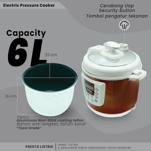 Infinito Electric Pressure Cooker 03