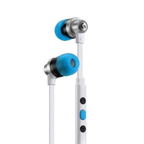 Logitech G333 Earphone Gaming (981-000931) - White
