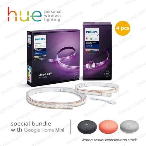 Philips Hue Super Deals (Base + 4x Ext) - Promo Home Mini