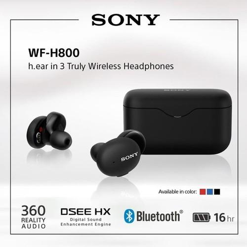 Sony Truly Wireless Headphone MDR WF-H800/B - Black