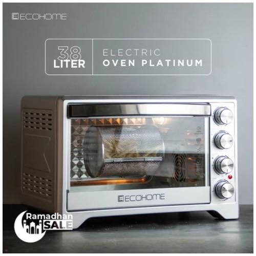 Ecohome Oven Listrik Platinum Eop-888 Ecohome Official