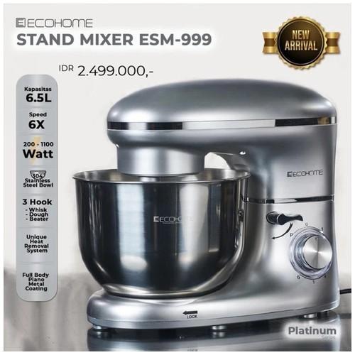 Ecohome  Stand Mixer ESM-999 Original Premium Quality - SILVER - ESM-999