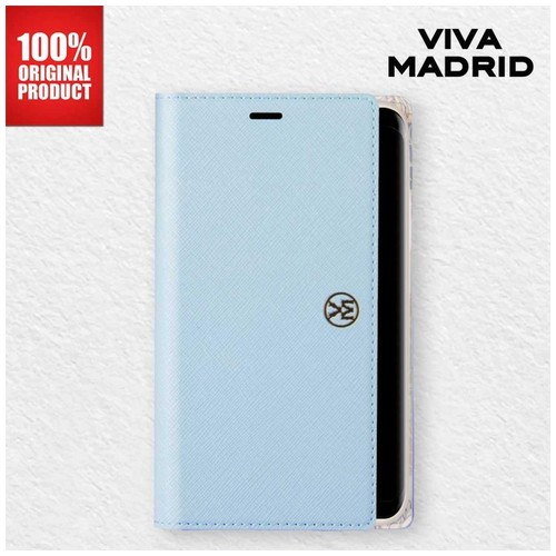 Casing Samsung Note 8 Ramito Viva Madrid - Forget Me Not Blue