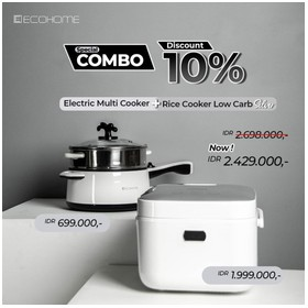 Bundling Ecohome Rice cooke