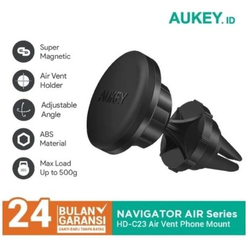 AUKEY HD-C23 - Navigator Air II - Air Vent Magnetic Phone Mount
