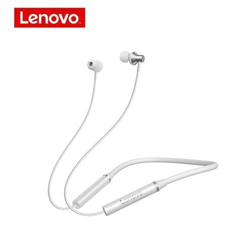 LENOVO HE05 - Magnetic Neckband IPX5 Bluetooth 5.0 Earphone White