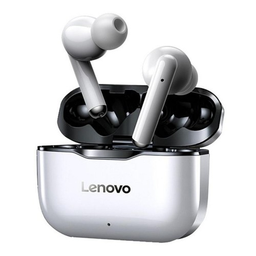 LENOVO LivePods LP1 - TWS Bluetooth Earphone with 300mAh Storage Box Black