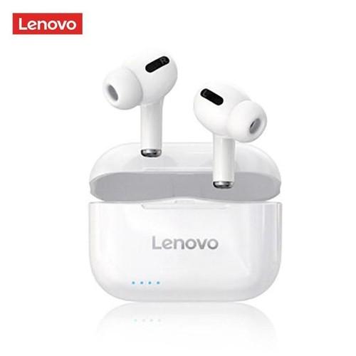 LENOVO LivePods LP1S - Bluetooth TWS Earphone with 300mAh Storage Box White