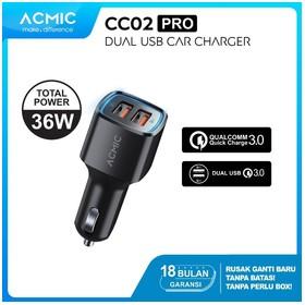 ACMIC CC02PRO Dual USB QC3.