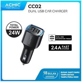 ACMIC CC02 Dual USB 2.4A Ca