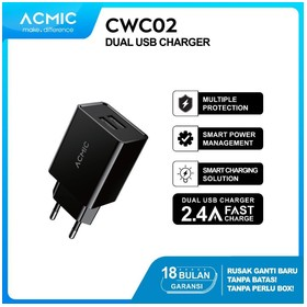 ACMIC CWC02 - Dual USB Wall