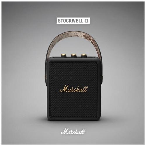 Marshall Stockwell II Bluetooth - Black and Brass