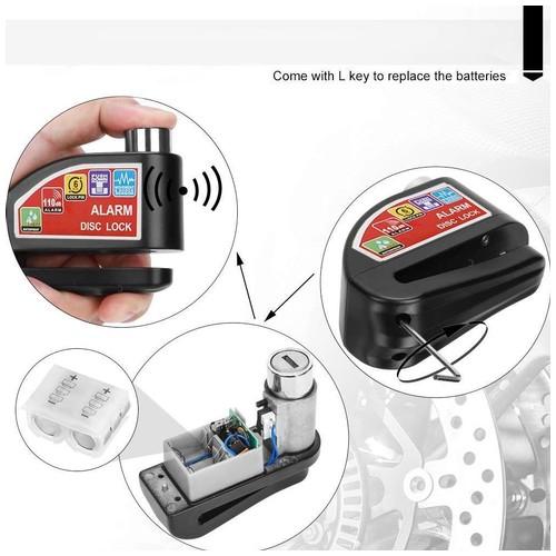 KALNO Alarm Disk Lock KL901 GEMBOK ALARM CAKRAM