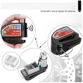 KALNO Alarm Disk Lock KL901