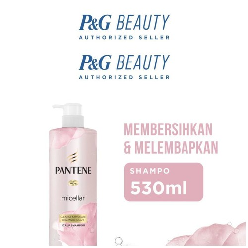 Pantene Shampoo Micellar Cleanse and Hydrate 530 ml