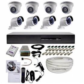 PAKET CCTV 8CHANNEL TURBO H