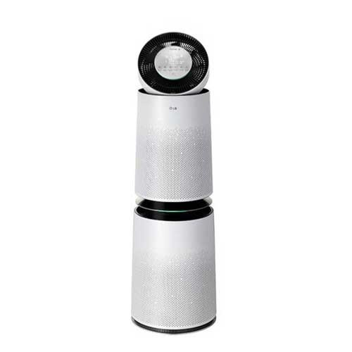 LG PuriCare 360 Air Purifier with Filter SafePlus & Allergy Care - White (Coverage 100m2)
