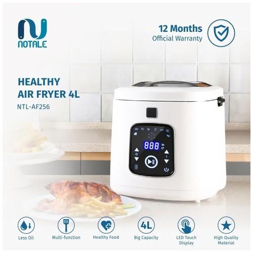 Notale Air Fryer Digital 4L Penggoreng Tanpa Minyak