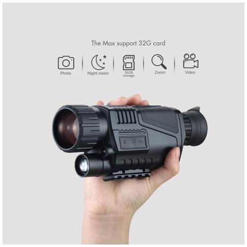 NV-300 - 5x8 Digital Night Vision Infrared Monocular - 1.44-inch LCD