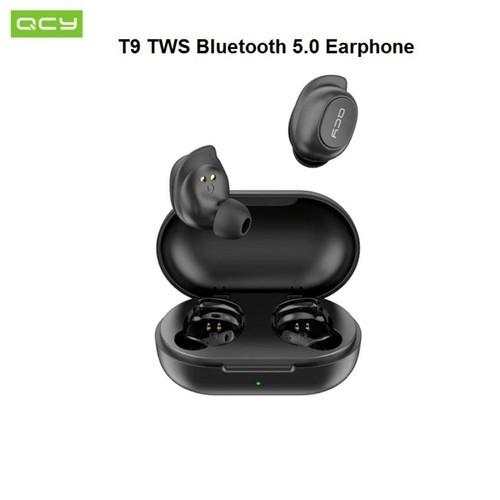 QCY T9 - Wireless Earphone Bluetooth 5.0 TWS with 380mAh Storage Box