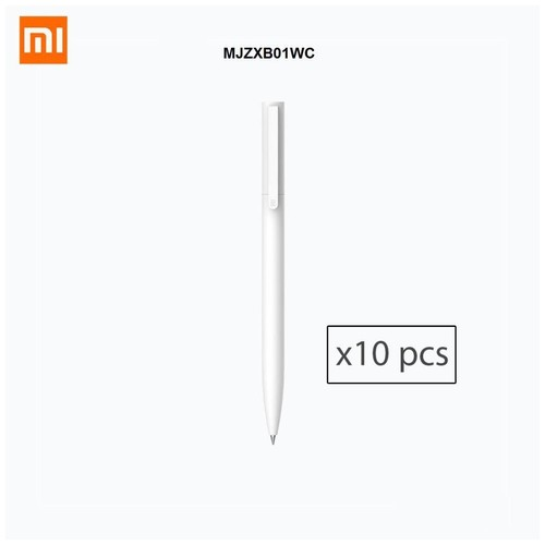 XIAOMI MIJIA Neutral Gel Pen 0.5mm - Set of 10pcs - MJZXB01WC