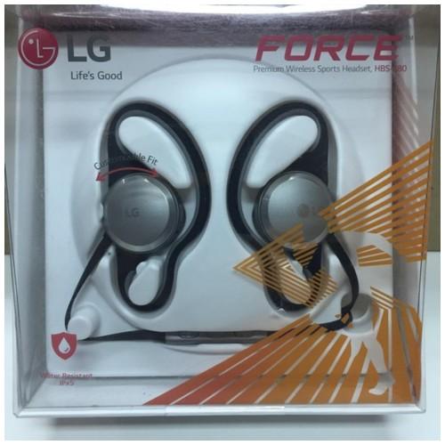 [BNIB] LG Force Premium Sports Headset - HBS-S80 - Silver