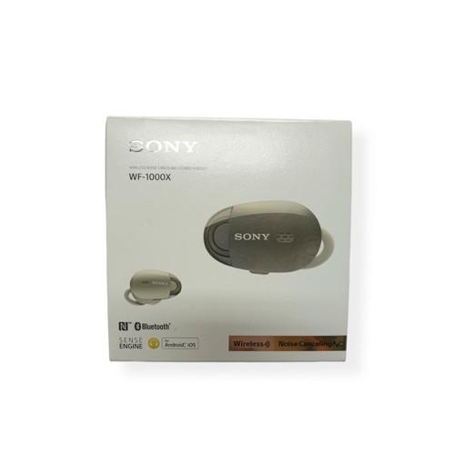 [Damaged Product] Sony Wireless Noise Canceling Headphones - WF-1000X - Gold
