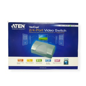 Aten 2/4 Port Video Switch