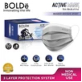 BOLDe Active Mask 3Ply 50 P
