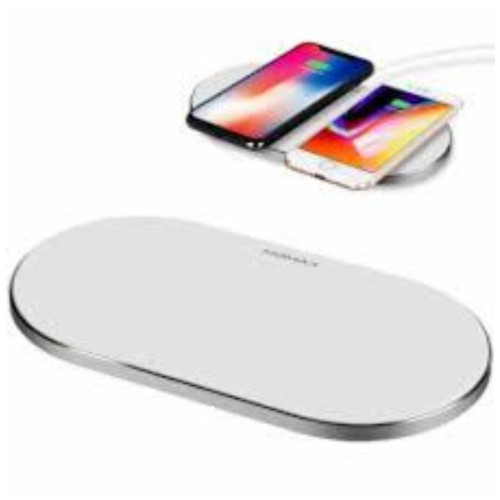 MOMAX Wireless Charger Q Pad Dual Pro Quad UD11W White