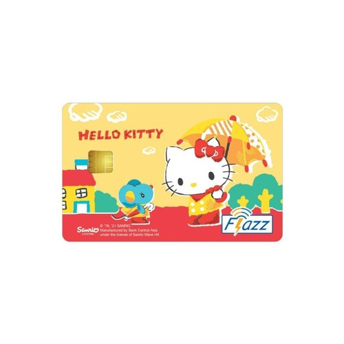 Kartu Flazz Limited Edition Hello Kitty Umbrella Berlogo Baru 2021