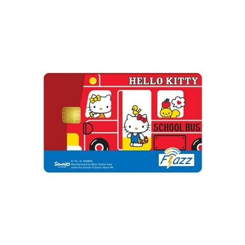 Kartu Flazz Limited Edition Hello Kitty School Bus Berlogo Baru 2021