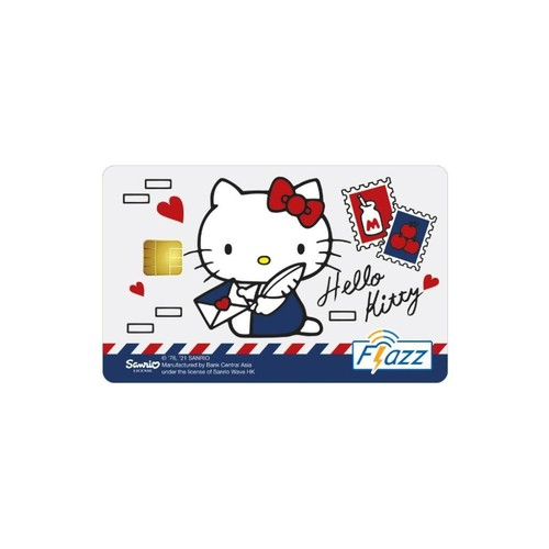 Kartu Flazz Limited Edition Hello Kitty Mail Berlogo Baru 2021